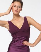 Plum Formal Dress Plus Size